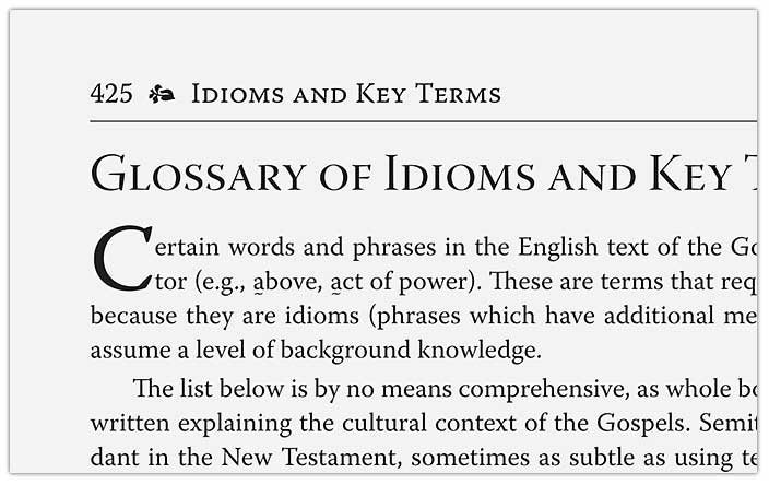 Glossary of Idioms and Key Terms